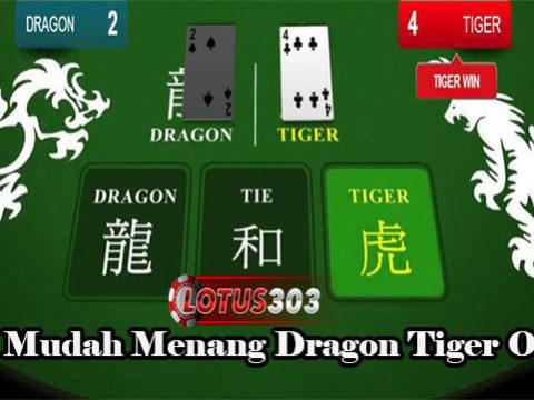 Tips Mudah Menang Dragon Tiger Online
